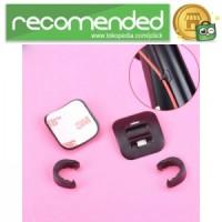 Fixed Clamp Kabel Rem Sepeda - Hitam