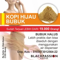 Jual KOPI HIJAU BUBUK MUJARAB - GREEN BEAN COFFEE POWDER Murah