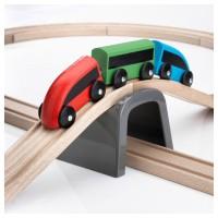 Mainan Anak - IKEA LILLABO Basic Train Set Kereta Api Trek Isi 20 Pcs