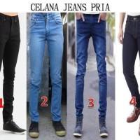 Celana Jeans Panjang Pria Biru Streatch