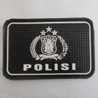 Patch rubber logo POLISI ~