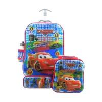 tas koper anak ,tas troli anak troli KARAKTER CARS  Tas Anak [4 in 1]