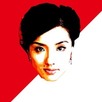 """Chinesse Woman"" Souvenir Print Vector Non Frame"