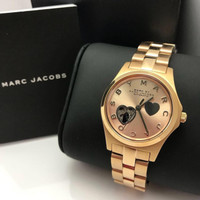 Jam Tangan Couple Marc Jacobs Original MJ MBM Automatic Watch MBM9712