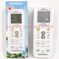 ChungHop 1000 in 1 Universal AC Remote Segala Merk AC.
