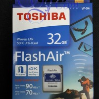 Toshiba Flash Air 32GB Wifi SD SDHC Card Wirelles LAN Flash Air