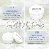 ERTOS Night Cream Whitening/ ERTO'S Night Cream BPOM Original 100%