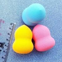 MINI BEAUTY - Sponge Blender Micro Mungil Premium Eceran Guci / Telor