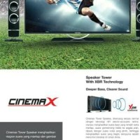 TV LED POLYTRON 32T100 +SPEAKER CINEMAX /TV LED 32 Limited