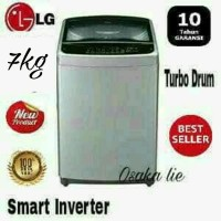 MESIN CUCI SMART INVERTER LG T2107 7KG 1 TABUNG NEW