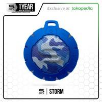 STORM Bluetooth Speaker Wireless Portable Waterproof SOUL CAMO BLUE