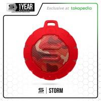 STORM Bluetooth Speaker Wireless Portable Waterproof SOUL CAMO RED