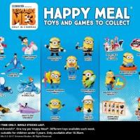 Grosir Custom Thread II McDonald s Happy Meal Despicable Me 3 Austral