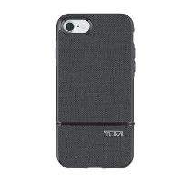 TUMI 2-PC Slider Case for iPhone 7 - Grey Coated Canvas