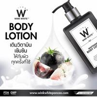 Harga hitam body lotion wihtening suncreen by wink | Pembandingharga.com