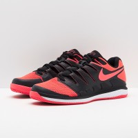 Sepatu Tennis Nike Zoom Vapor 10 - Black/Red/White Original