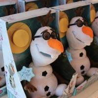 (Murah) Disney Store USA - Olaf Singing Plush Doll - 10 1/2''