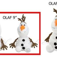 (Dijamin) Disney Store USA - Olaf Plush Doll - 9'' / Boneka Olaf