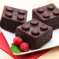 (Diskon) Think Geek TG525 Building Brick Mini Cake Mold