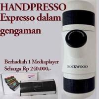 Minipresso Mini Espresso Handpresso pembuat espresso portable BEST