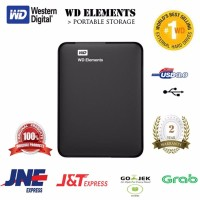 WD Element Elements 500GB Black Hitam HD HDD Hardisk Eksternal Exter