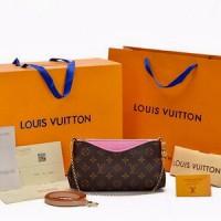 LOUIS VUITTON/ tas branded/ tas premium/ garansi super cakep