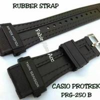 Tali Jam CASIO PROTREK PRG-250 B/PRG250B/PRG 250B Rubber Strap
