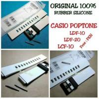 ORIGINAL Strap Tali Jam Tangan CASIO POPTONE LDF10/LDF-10/LDF 10
