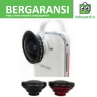 Lesung Universal Clamp Super Wide Angle Lens - LX-C004 - Hitam