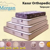 Kasur Morgan Biznet Lis Orthopedic Rebonded Tanpa per U Diskon