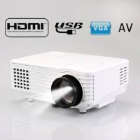 infokus Mini Projector proyektor led 805 tv tuner terbaik murah nobar