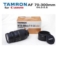 LENSA TAMRON AF70-300/F4-5=6 FOR CANON