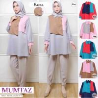 Blouse Casual Tunik Baju Atasan Wanita Terbaru ROSA TUNIC