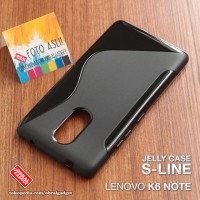 Soft Jelly Case Lenovo K6 Note Softcase Silikon Silicon Casing Cover