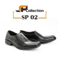 Sepatu Kulit Pantofel PDH SP 02 Untuk Dinas Ke Kantor dan Formal