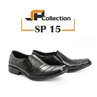 Sepatu Kulit Pantofel PDH SP 15 Untuk Dinas Ke Kantor dan Formal
