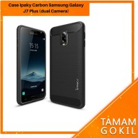 Case Samsung Galaxy J7 Plus Ipaky Carbon Soft Series