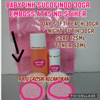 BABYPINK SUCOFINDO 30 gr / BABY PINK SUCOFINDO 30 gr (TAS PINK)