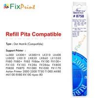 Ribbon Pita Epson LX300 LX300+ LX300+II (Pita Refill)