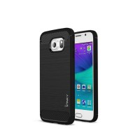 Case Samsung Galaxy S6 Flat Ipaky Carbon Soft Series