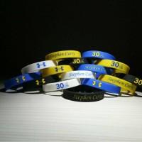 2779f12efe30 Stephen Curry Basketball Silicone Bracelets