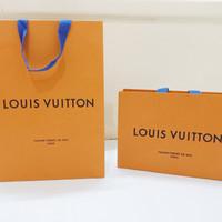 LV Authentic Louis Vuitton paperbag branded original paper bag