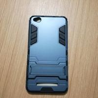 Case Xiaomi Redmi 4A Hardcase Iron Armor Biru Dongker