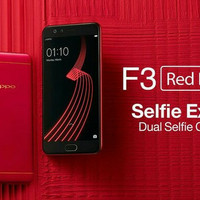 Hp oppo f3 red special edition
