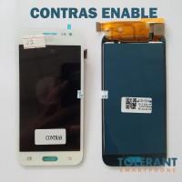 LCD + TOUCHSCREEN SAMSUNG J2 J200g KONTRAS ENABLE BLACK WHITE GOLD