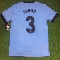 Original Jersey Manchester City 2014-15 Home Sagna Baju Bola Asli