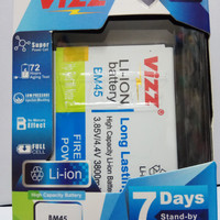 battery batt batre baterai double power vizz xiomi redmi note 2 bm45