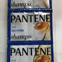 Pantene Shampo Biru Sachet 2 Lusin 24 Sachet Pcs Shampoo Anti Ketombe