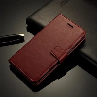 FLIP COVER WALLET Nokia 6 case casing hp dompet kulit premium leather