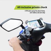 Holder Motor - dudukan hp motor - Holder Robot Motor - pegangan hp